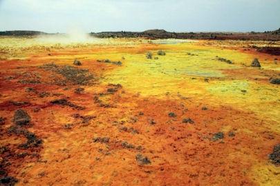 Etiopie - Danakilská proláklina