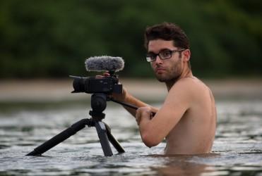 Matej během natáčení dokumentu v Kostarice