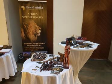 CK Grand Afrika na módní přehlídce Aleny Wilson