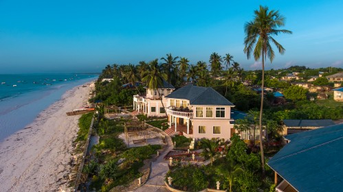 Zanzibar - nový hotel v našem portfoliu - luxusní Jafferji Beach Retreat