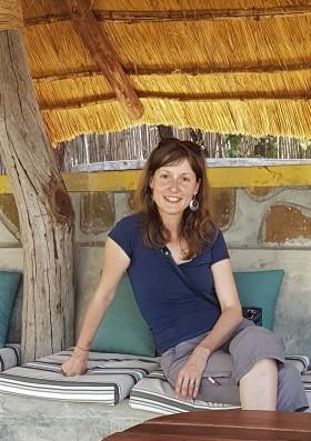 Pavlína Rojík Fulnečková během inspekční cesty v Africe