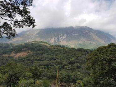 inspekční cesta do Malawi - výstup do pohoří Mulanje