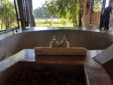 inspekční cesta do národního parku South Luangwa - ubytování