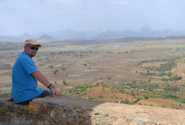 Jan Záhořík v Axumu
