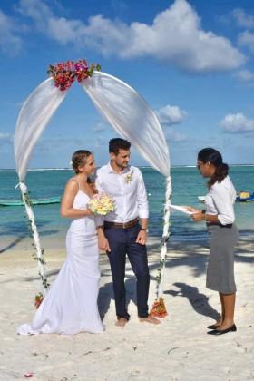 svatba na ostrově Mauricius, hotel Ambre, prosinec 2018, fotoalbum manželů Frolových