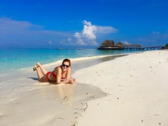 Svatební cesta Adély Birošové s manželem na Zanzibaru
