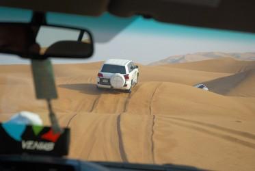 pouštní safari Dubaj